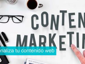 Personaliza tu contenido web