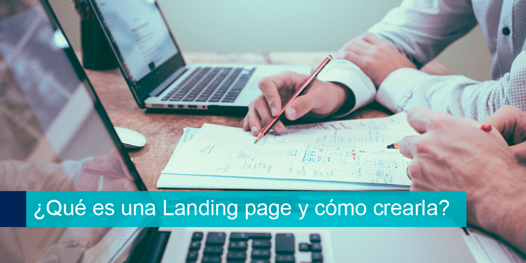que es una landing page