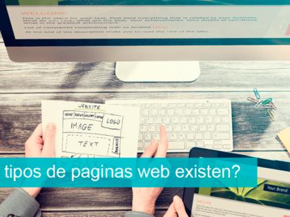 ¿Qué tipos de páginas web existen?