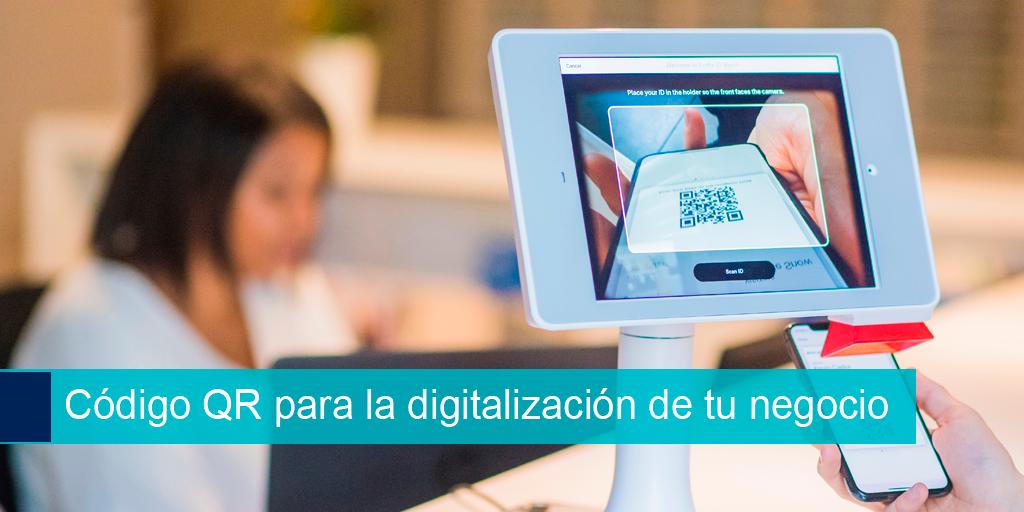 Código QR para la digitalización de tu negocio