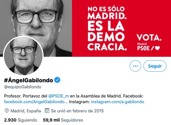 Twitter Ángel Gabilondo