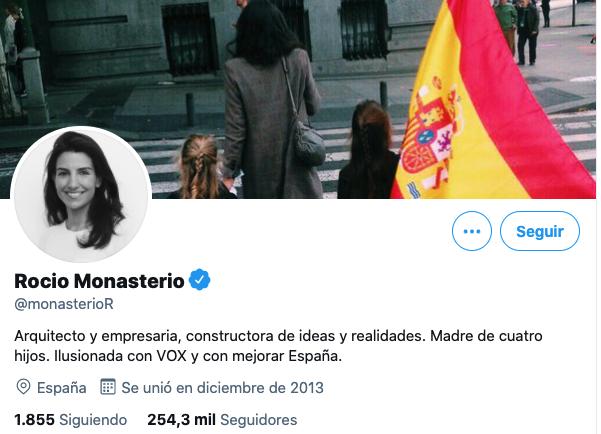 Rocio Monasterio Twitter