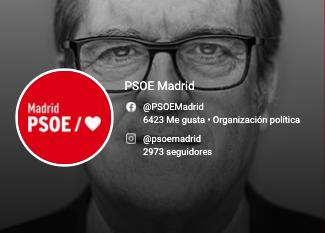 Redes Sociales PSOE Madrid